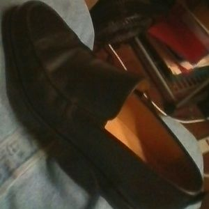 Coach leather slip-on loafers shoes 11.